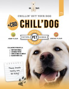 Chill Dog, Dog Treats with CBD