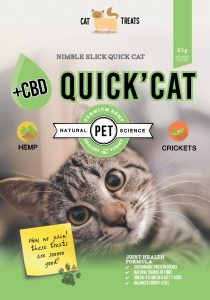 Quick Cat, Cat treats with CBD